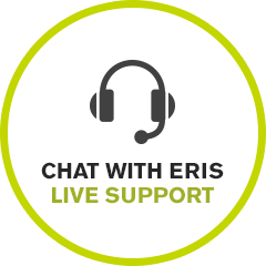 Chat with ERIS Live Support