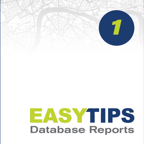 Easy Tips 01: Database Reports
