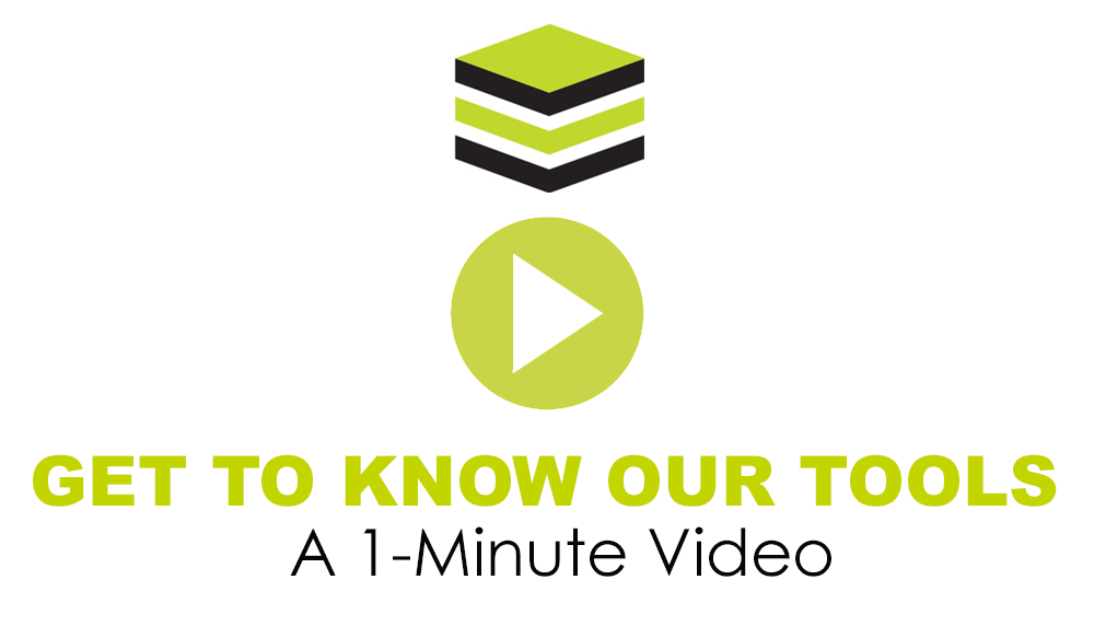 Get To Know Our Tools: A 1-Minute Video
