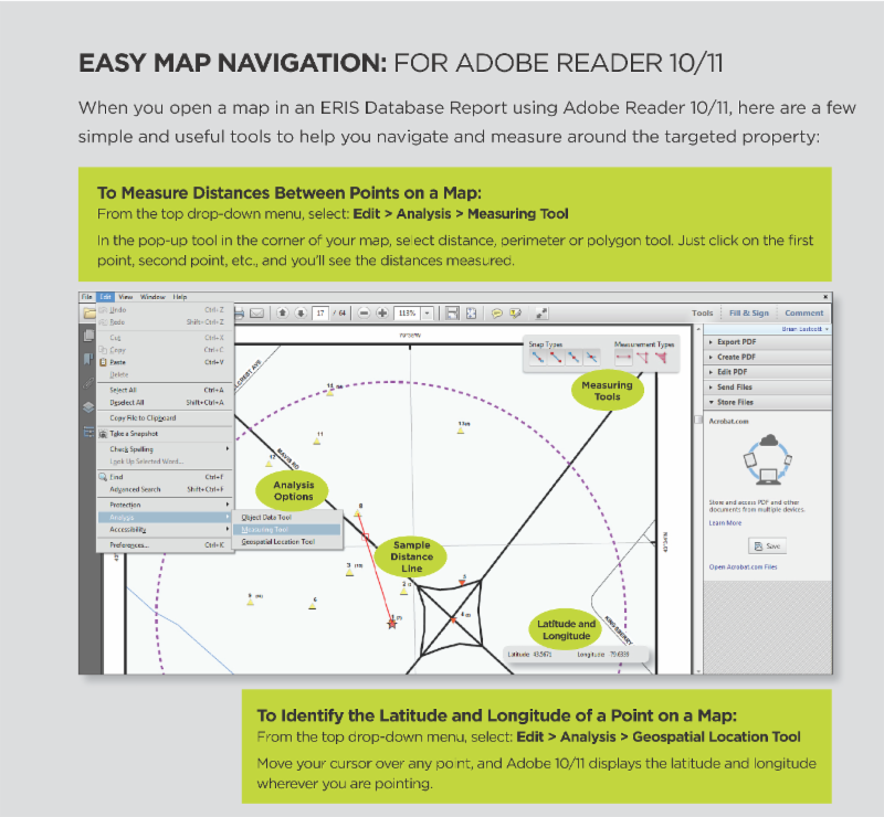 Easy Map Navigation: For Adobe Reader 10/11